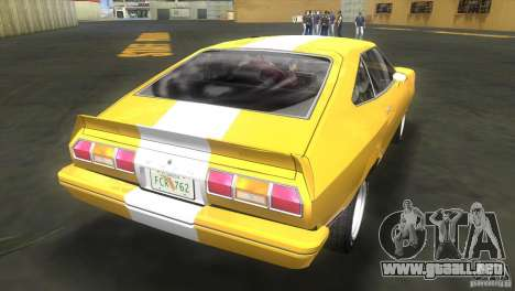 Ford Mustang Cobra 1976 para GTA Vice City left