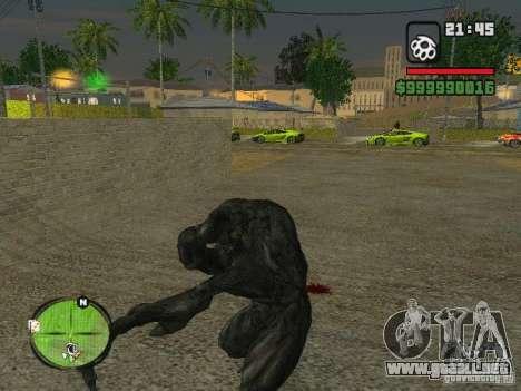 Bibliotekar para GTA San Andreas quinta pantalla