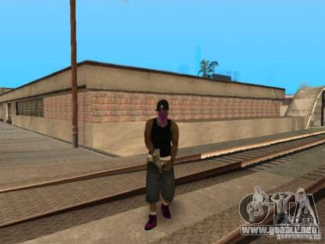 Pack Ballas Soldiaz Families V.2 para GTA San Andreas sucesivamente de pantalla