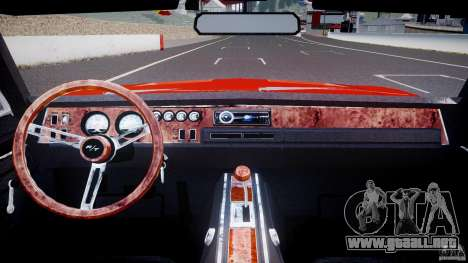 Dodge Charger General Lee 1969 para GTA 4 visión correcta