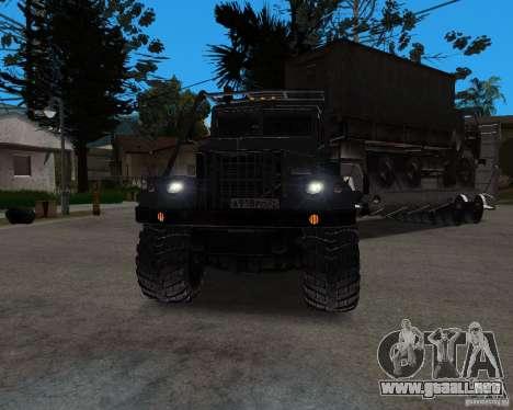 KrAZ 255 + remolque artict2 para GTA San Andreas