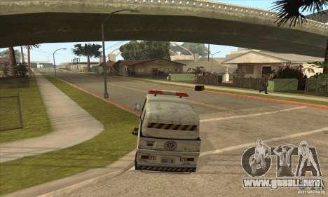 Barrendero de trabajo para GTA San Andreas