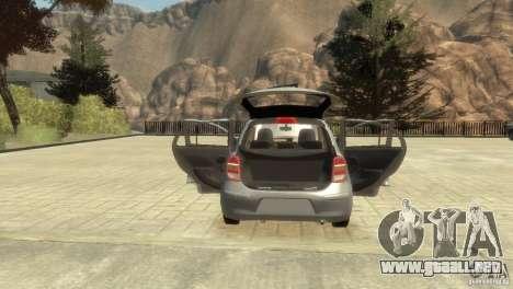 Nissan Micra para GTA 4 vista lateral