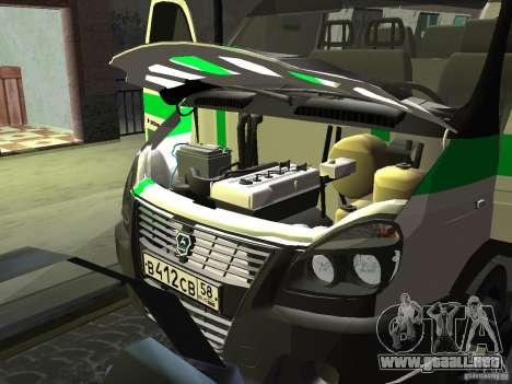 Empresas 3302 gacela para visión interna GTA San Andreas