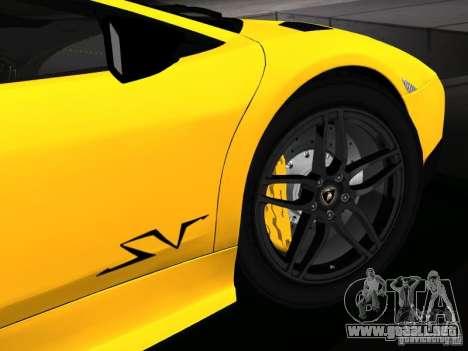 Lamborghini Murcielago LP670-4 sv para el motor de GTA San Andreas