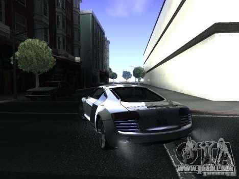 Audi R8 para GTA San Andreas left