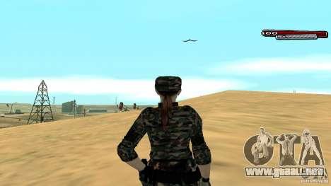 Soldado HD para GTA San Andreas sucesivamente de pantalla