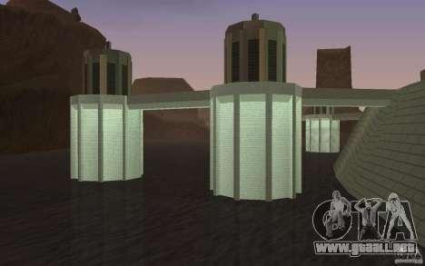 La nueva presa para GTA San Andreas tercera pantalla