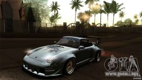 Porsche 993 RWB para la vista superior GTA San Andreas