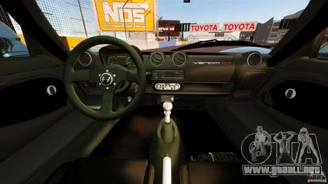 Hennessey Venom GT 2010 [EPM] para GTA 4 vista hacia atrás