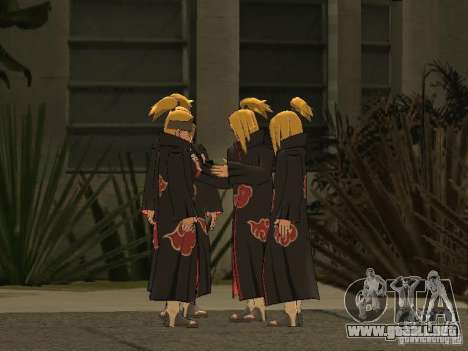 The Akatsuki gang para GTA San Andreas novena de pantalla
