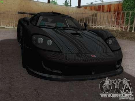 Saleen S7 Twin Turbo Competition Custom para visión interna GTA San Andreas