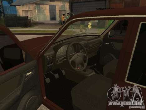 GAS 311055 para visión interna GTA San Andreas