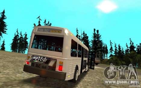 NFS Undercover Bus para vista lateral GTA San Andreas