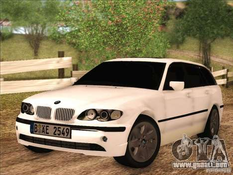 BMW M3 E46 Touring para GTA San Andreas left