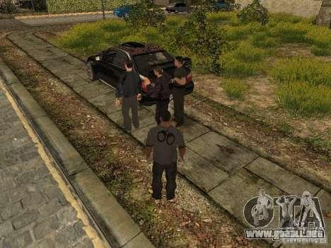 MAFIA Gang para GTA San Andreas segunda pantalla