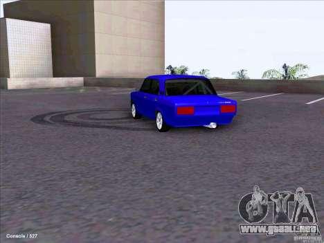 ВАЗ 2107 Drift para la visión correcta GTA San Andreas