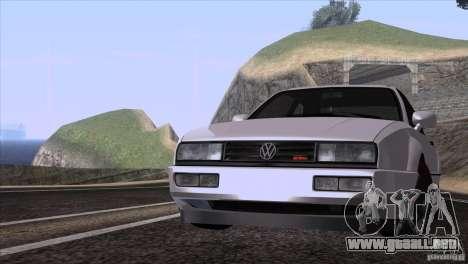 Volkswagen Corrado VR6 para GTA San Andreas left