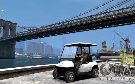 Caddy To IV para GTA 4