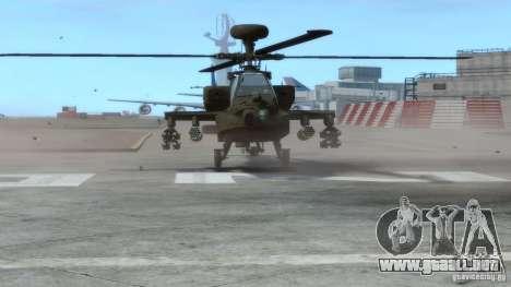 AH-64D Longbow Apache v1.0 para GTA 4 left