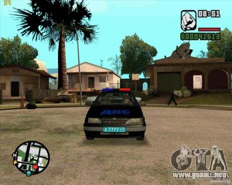 ВАЗ 2114 DPS tuning para GTA San Andreas left