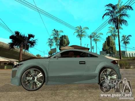 Audi TT 2007 Tuned para GTA San Andreas left