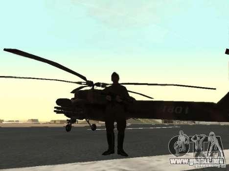 Mi-28 para la visión correcta GTA San Andreas