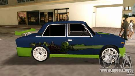 2106 VAZ Tuning v2.0 para GTA Vice City vista lateral izquierdo