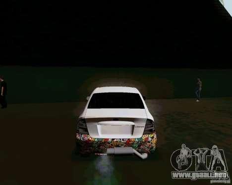 Subaru Legacy JDM para GTA San Andreas vista posterior izquierda