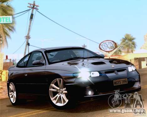 Vauxhall Monaro VXR para la visión correcta GTA San Andreas