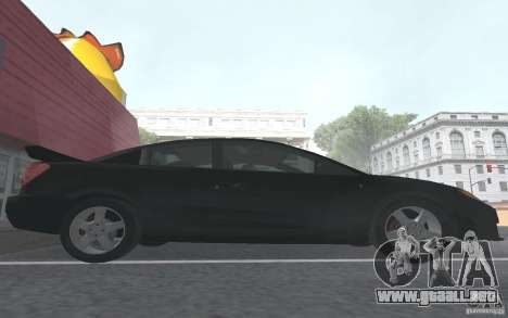 Saturn Ion Quad Coupe para GTA San Andreas interior