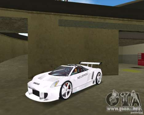 Cadillac Cien Shark Dream TUNING para GTA Vice City