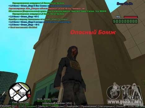 m0d S0beit 4.3.0.0 Full rus para GTA San Andreas tercera pantalla