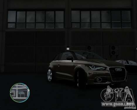 Audi A1 v.2.0 para GTA 4 left