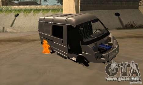 Gacela 2705 carga pasajeros para vista inferior GTA San Andreas