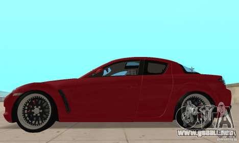 Mazda RX-8 para GTA San Andreas left