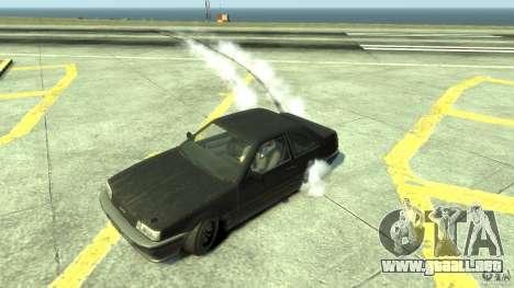 Drift Handling Mod para GTA 4 adelante de pantalla