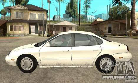 Ford Taurus 1996 para GTA San Andreas left