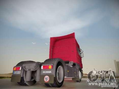 Scania R580 Topline para la visión correcta GTA San Andreas