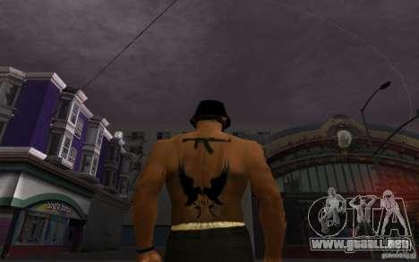 Hollywood Undead Tatoo para GTA San Andreas
