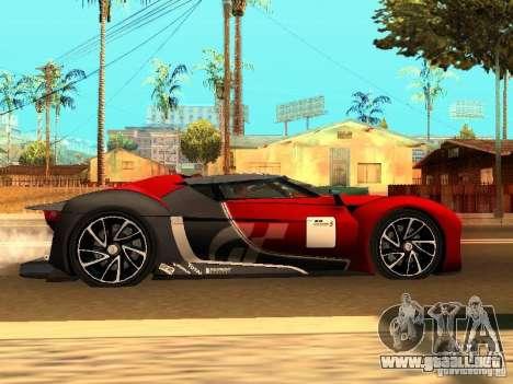 Citroen GT Gran Turismo para la visión correcta GTA San Andreas
