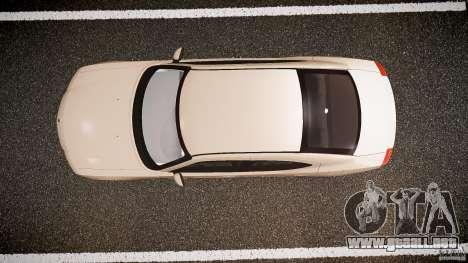 Dodge Charger RT Hemi 2007 Wh 1 para GTA 4 visión correcta