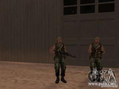Comando ruso para GTA San Andreas sexta pantalla