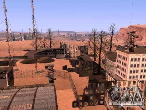 Chernobyl MOD v1 para GTA San Andreas quinta pantalla