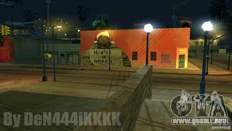 Graffiti para GTA San Andreas tercera pantalla