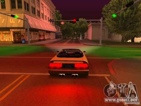 Infernus Revolution para vista lateral GTA San Andreas
