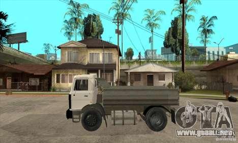 5551 MAZ camión para GTA San Andreas left