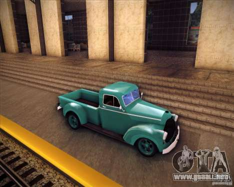 Shubert pickup para GTA San Andreas left