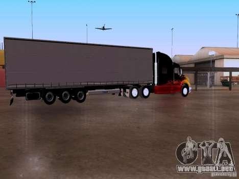 Peterbilt 387 para la vista superior GTA San Andreas