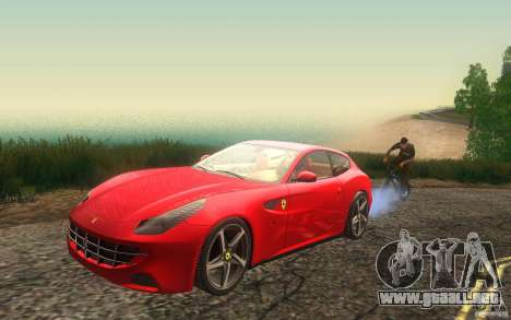 Ferrari FF para visión interna GTA San Andreas